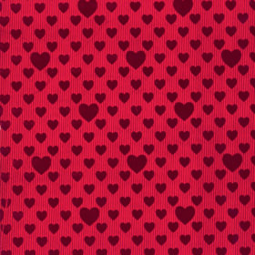 Red Foil Hearts