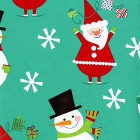 Flakey Santa and Snowman