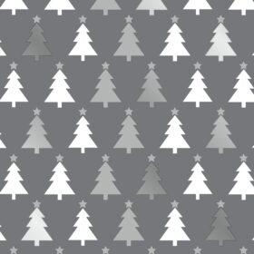 Grey Creamy Christmas Trees