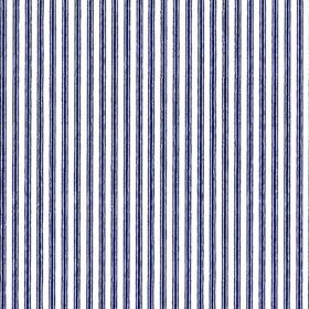 Blue Ticking Stripe