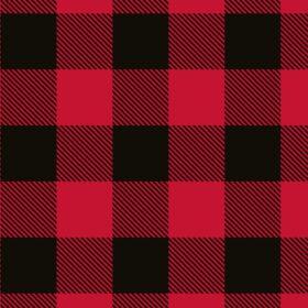 Red/Black Buffalo Plaid