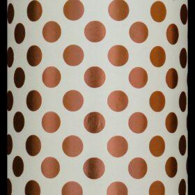 Rose Gold/Cream Dot