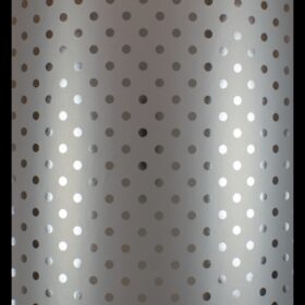 Silver Tone Dots