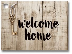Rustic Welcome Home